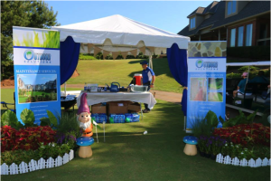Outdoor Solutions of Columbus sponsors the Columbus Chamber of Commerce Golf Extravaganza.