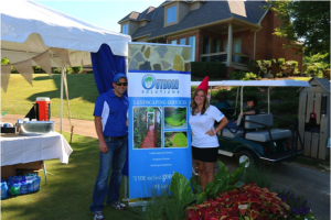 Outdoor Solutions at the 2015 Columbus Chamber of Commerce Golf Extravaganza.