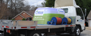 Outdoor Solutions of Columbus fertilizer is full of nutrients that will keep your lawn green and the weeds away!